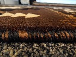 South West Runner Rug 2 Feet X 7 Feet Chocolate Design # C318