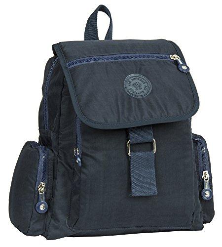porté femme dos Big Style Sac pour à Handbag 5 Navy au Shop main Backpack zzZgF0X