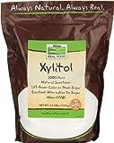 Now Foods Xylitol, 3 Bags (2.5 lb Per Bag)