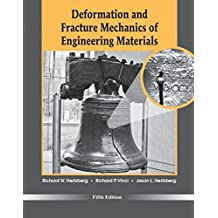 Deformation and Fracture Mechanics of Engineering Materials