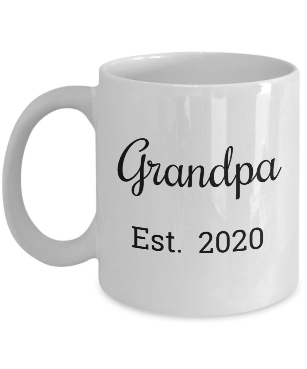 Best Stocking Stuffers 2020.Amazon Com Grandpa Est 2020 Mug Dad Is Promoted To A