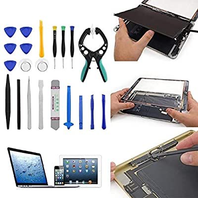 Screwdrivers & Nut Drivers - 21 in 1 Mobile Phone Repair Tools Screwdriver Repair Tool Set LCD Screen Opening Pliers Suction Cup for iPad - Mobile Phone Repair Kit