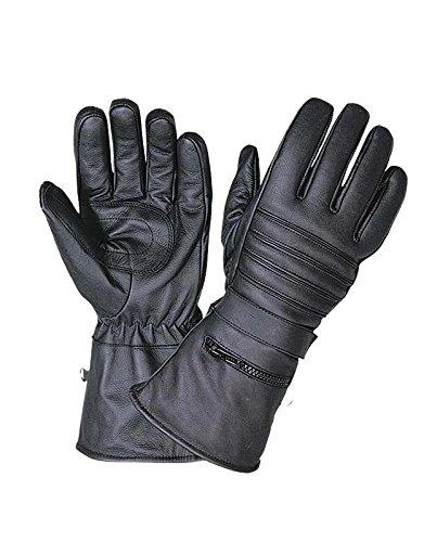 Unik International Mens Motorcycle Gauntlet Gloves with Rain Cover 4XL from Unik International