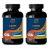 Increase sex desire for men - L-Dopa 99% - EXTRACT FROM MUCUNA PRURIENS (VELVET BEANS) - Mucuna pruriens dopa - 2 Bottles 120 Capsules
