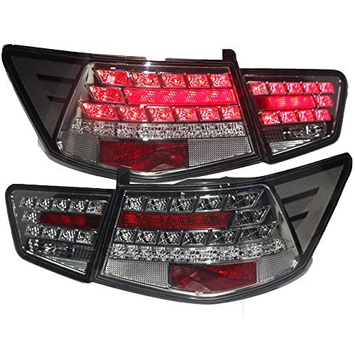 Generic LED Tail Lamp Rear Light Black Color WH 2009 to 2013 Year for Kia Forte Cerato
