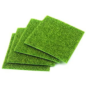 NICE PURCHASE Artificial Moss Simulation Fake Green Plants Grass for Party Patio Lawn Micro Landscape Decoration Flowers Grass DIY Crafts 6