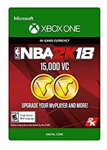 Amazon.com: NBA 2K18: 15,000 VC - Xbox One [Digital Code