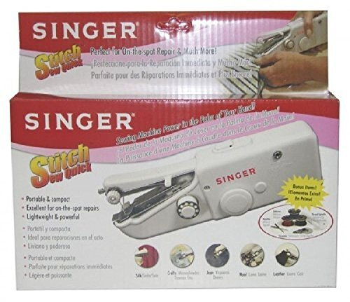 Singer Stitch Sew Quick, Hand Held Sewing - Machine Stitch Quick Sewing Compact