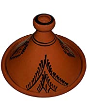 Moroccan Cooking Tagine Handmade 100% Lead Free Safe Large 12 inches Across Traditional