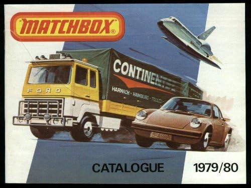 Matchbox Katalog 1979 1980