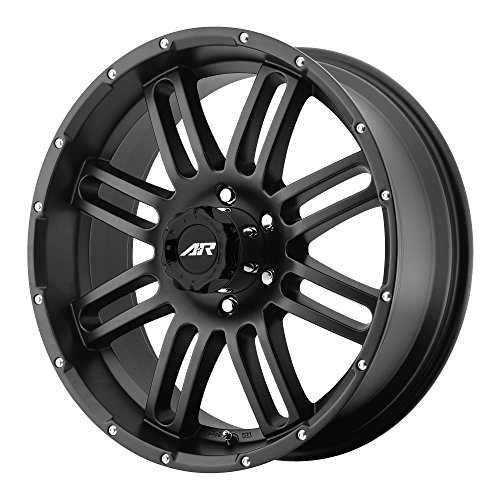 20 Inch Black American Racing (American Racing AR901 Satin Black Wheel (20x9