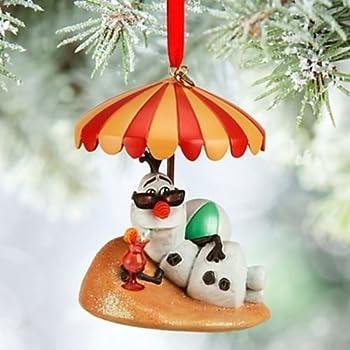 Amazon.com: Disney Parks Olaf Snowman Frozen Christmas Holiday ...