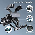 AINOPE Gravity Car Phone Holder Mount,2021 Upgraded Car Phone Mount with Hook Clips Vent Cell Phone Holder for Car Auto…