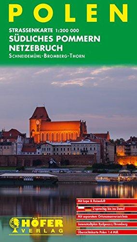 Höfer Straßenkarten, Polen, Südliches Pommern, Netzebruch