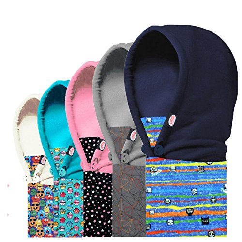 TRIWONDER Kids Fleece Balaclava Face Mask for Cold Weather Ski Mask Winter Windproof Cap Neck Warmer Full Face Cover Hat for Boys Girls Toddler Youth from TRIWONDER