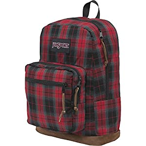 Jansport - Right Pack Digital Edition Student/Laptop Backpack, One size, Red Plaid iPlaid
