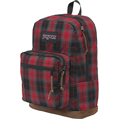 Student/Laptop Backpack, Red Plaid iPlaid