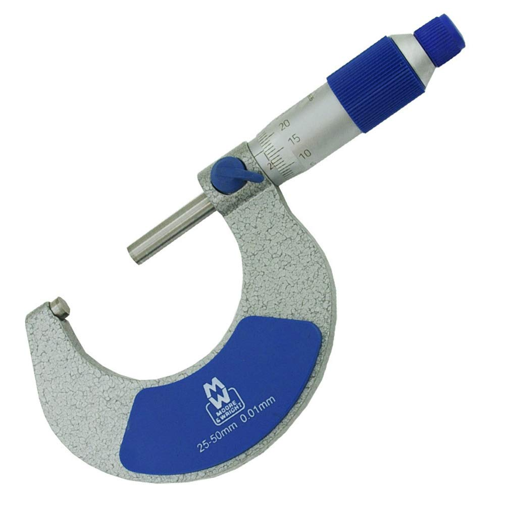 never deform and of high wear resistance B Blesiya Precision Depth Micrometer 0-25mm 0.01mm Flat Probe Made of stainless steel