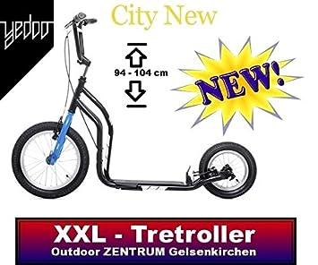 Yedoo patinete New City 16 inch12 pulgada Colour negro V ...