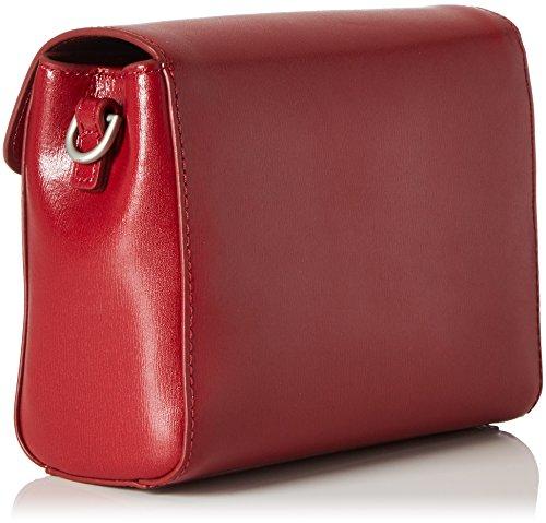 Tracolla 0 red Hombro Y Hera Mujer Mandarina 3 Shoppers De Bolsos Duck Rojo Iwtq7