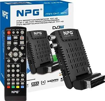 Npg Tech MINI DHT 18M - Sintonizador de TV: Amazon.es: Electrónica