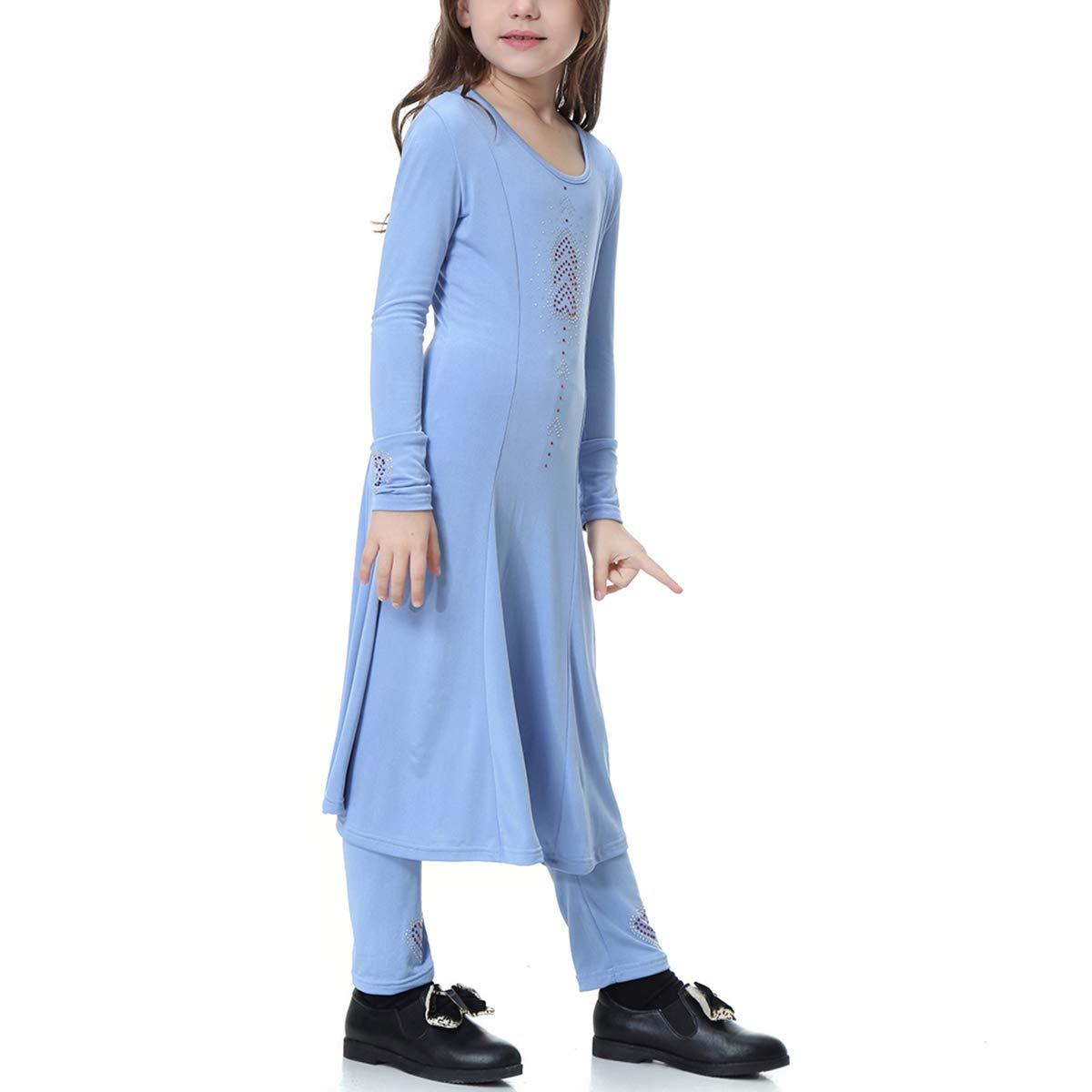 BESTOYARD 2pcs Establece niñas Musulmanas Trajes de Vestido Niños ...