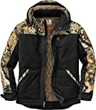 Legendary Whitetails Mens Canvas Cross Trail Workwear Jacket, Black, Medium