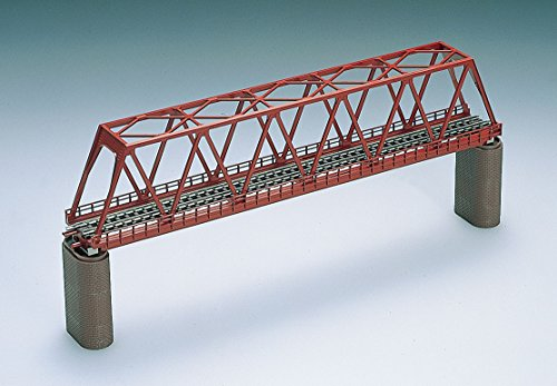 TOMIX N scale Single truss shape Bridge F Red Brick, used for sale  Delivered anywhere in USA