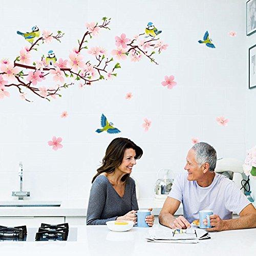 Zombie Eye Appliance (Wall Sticker, Hatop Room Peach Blossom Flower Butterfly Wall Stickers Vinyl Art Decals Decor Mural)