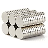 Fine Clutter Brushed Nickel Pawn Style  Fridge Magnets, Office Magnets, Dry Erase Board Magnets, Refrigerator Magnets, Whiteboard, Map, Magnetic Pins (Pack of 30)