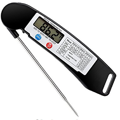Digital Cooking Thermometer Grilling Stainless product image