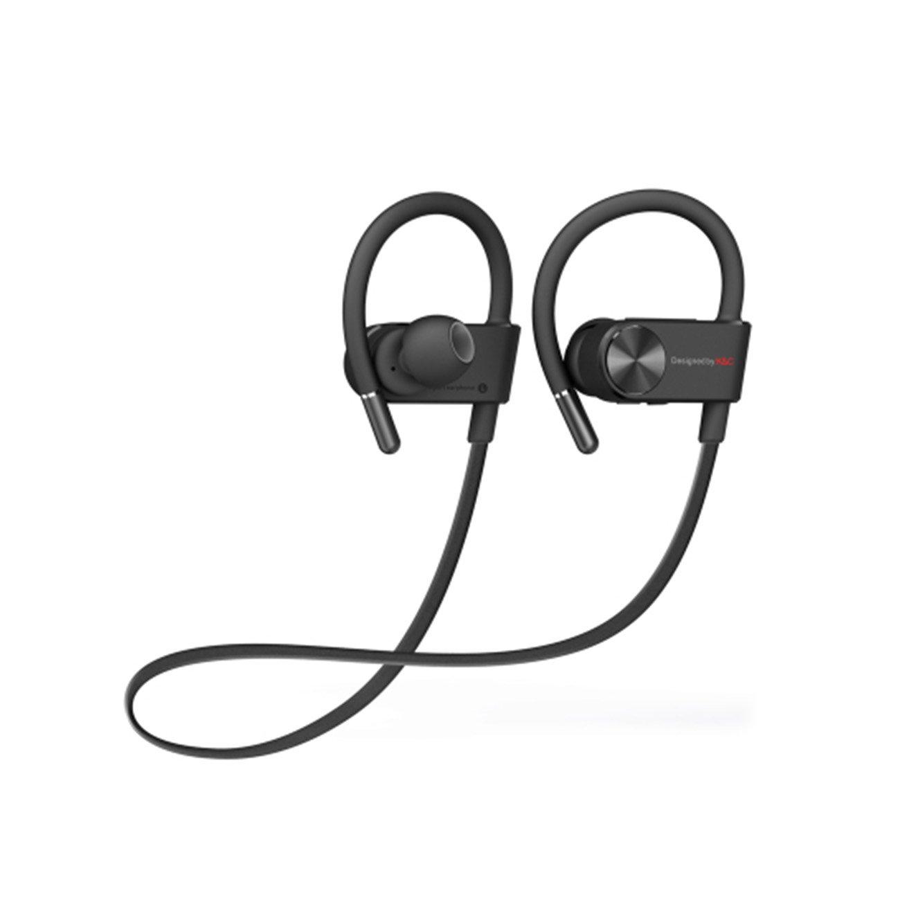 YIKESHU Nuevo IPX-4 Deporte Auriculares Bluetooth a Prueba de Agua ...
