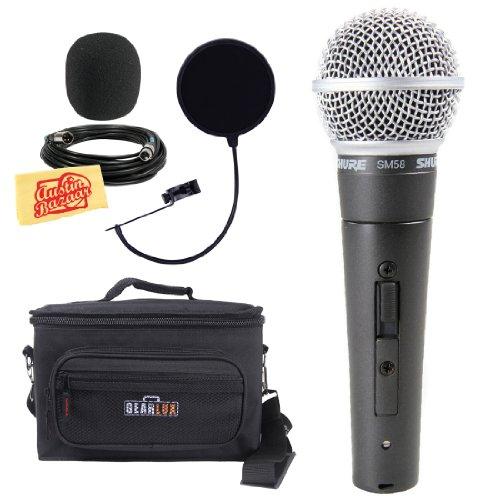 Shure SM58S Microphone Windscreen Polishing