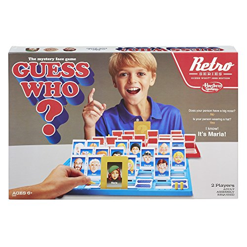 Guess Who? Game Retro Series 1988 Edition from Hasbro