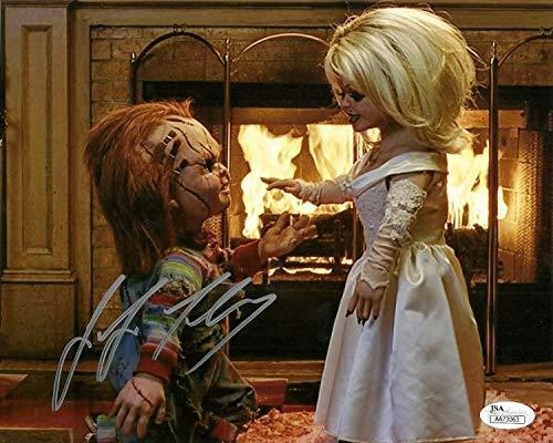 Jennifer Tilly Autographed Signed Memorabilia 8x10 Photo Bride Of Chucky Childs Play Tiffany Doll JSA ()