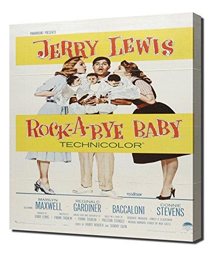 Rockabye Baby Furniture (Poster - Rock-a-Bye Baby_01 - Canvas Art Print)