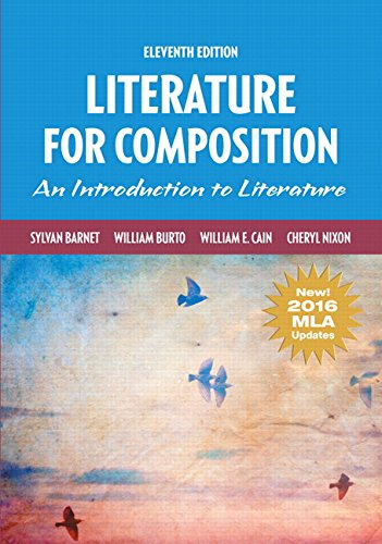Literature for Composition, MLA Update (11th Edition)