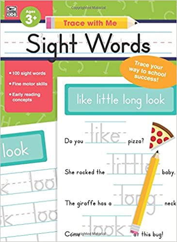 Sight Words (Trace with Me): Thinking Kids, Carson-Dellosa ...