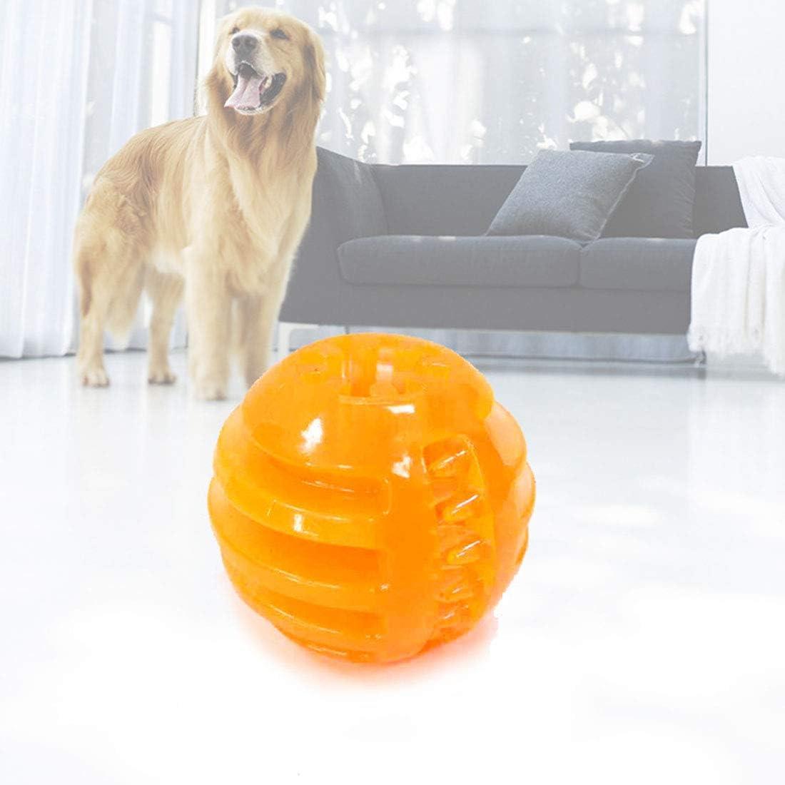 HOUYAZHAN Mordedura para Perros Juguete Molar Resistente Comida Grande para refrigerio para Perros Fugas Bola elástica sólida Comida para Perros Mordedura para Bolas. (Color : 2 Pack): Amazon.es: Productos para mascotas