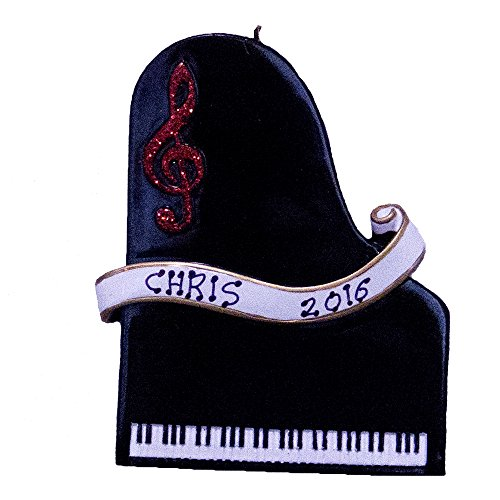 Personilized Piano Christmas Ornament-Free Personlization (Personilized Gifts)