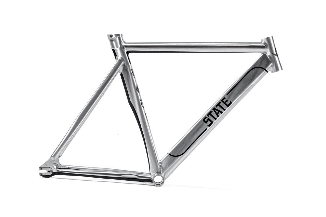 State Bicycle The Undefeated 2.0 7005 Aluminum Fixed Gear Bike Frame