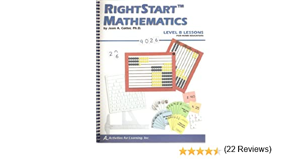 Counting Number worksheets math and money worksheets : RightStart Mathematics Level B for Home Educators: Joan A Cotter ...