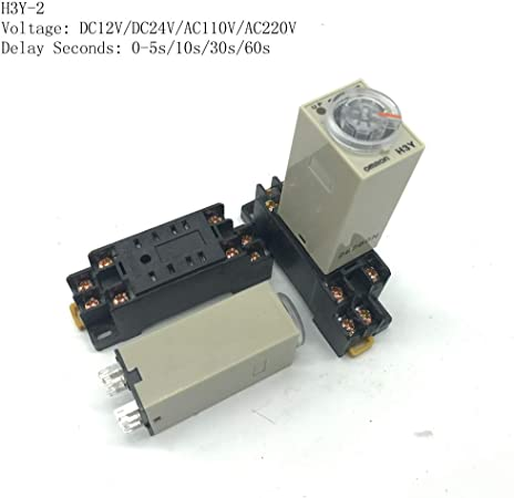 H3Y-2 DC 12V Delay Timer Time Relay 0-10 Seconds