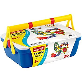 Amazon.com: Quercetti Georello Toolbox, 165 pieces: Varios: Toys & Games