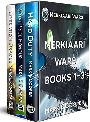 book cover of Merkiaari Wars Series