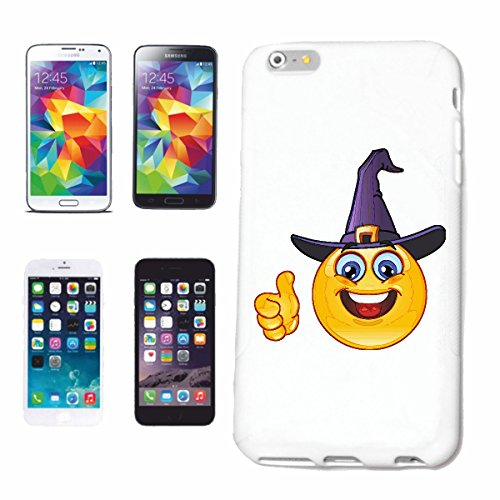 "cas de téléphone Samsung Galaxy S7 ""FUNNY SMILEY AS MAGICIEN AVEC CHAPEAU ""smile EMOTICON APP de SMILEYS SMILIES ANDROID IPHONE EMOTICONS IOS"" Hard Case Cover Téléphone Covers Smart Cover pour Samsung"