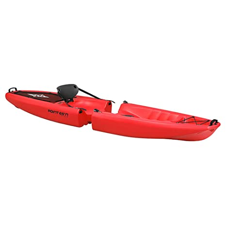 Point65°N Falcon Solo Kayak rígido modulable (Separable ...