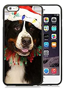 2014 Latest Case Cover For Apple Iphone 4/4S Christmas Dog Black Case Cover For Apple Iphone 4/4S PC Case 27