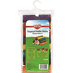 Superpet (Pets International) SSR60424 Wood Small Animal Tropical Fiddle Sticks Flexible Hideout Toy, Small