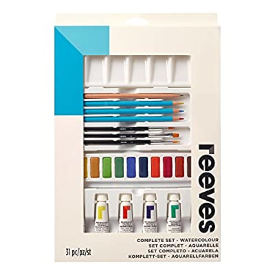 Reeves Complete Set, Watercolor: Arts, Crafts & Sewing